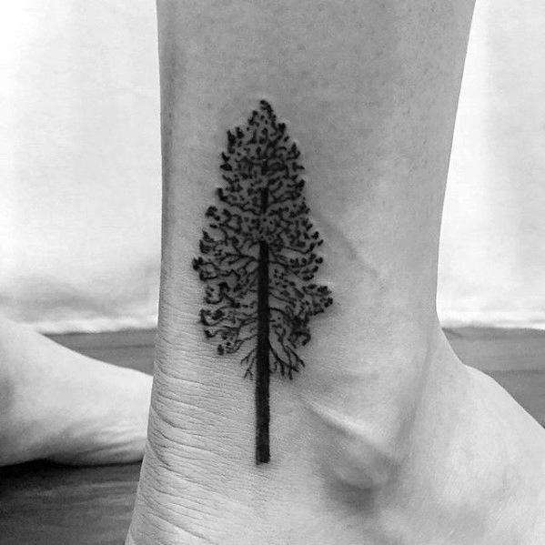 50 einfache Baum Tattoo Designs für Männer - Forest Ink Ideen