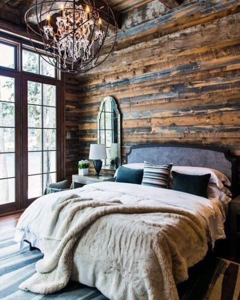 Top 40 Besten Rustikalen Schlafzimmer Ideen