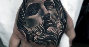 20 Jesus Hand Tattoo Designs für Männer - Christus Tinte Ideen