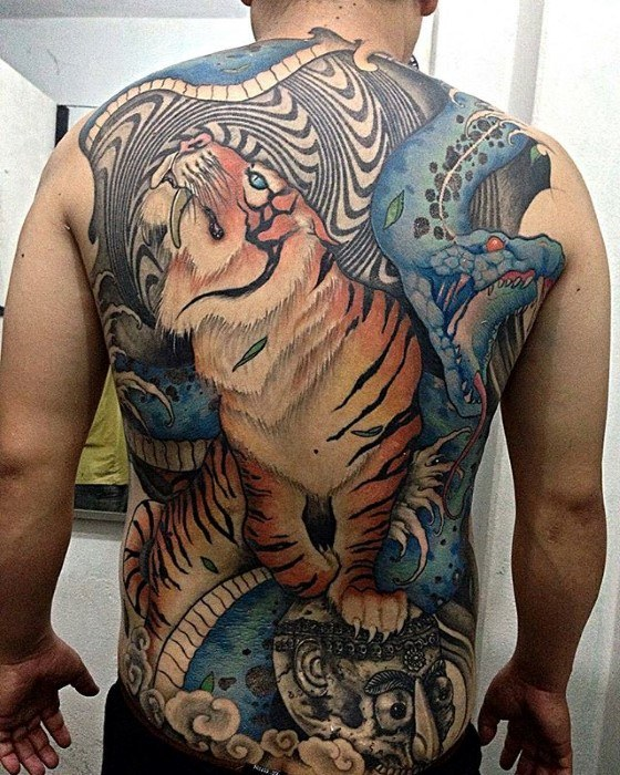 60 Trippy Tattoos für Männer - psychedelische Design-Ideen