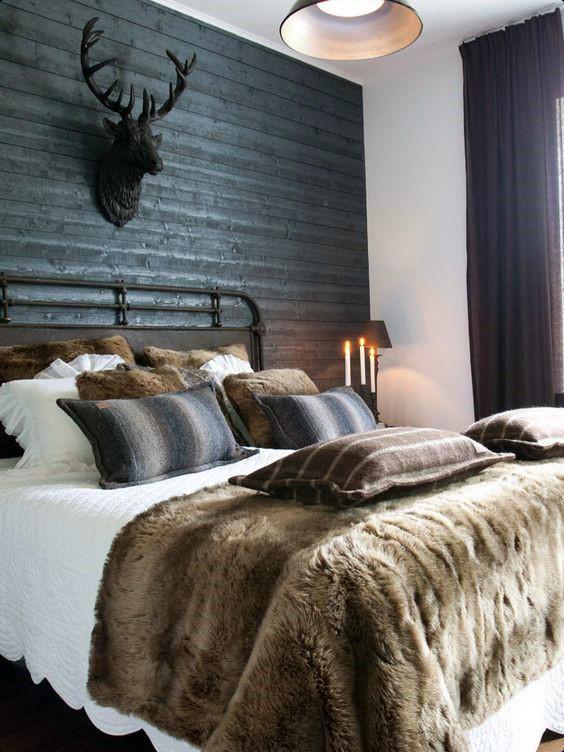 80 Bachelor Pad Männer Schlafzimmer Ideen - Manly Interior Design