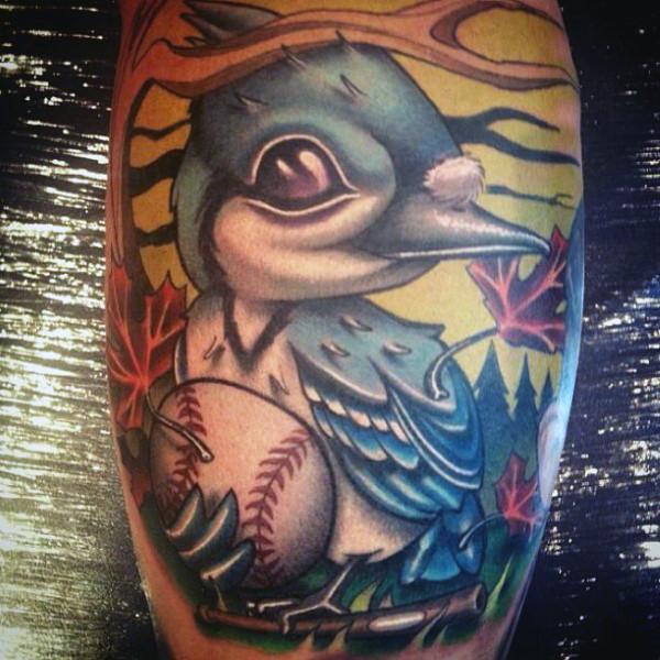 40 Baseball-Tattoos für Männer - ein Grand Slam of Manly Ideen