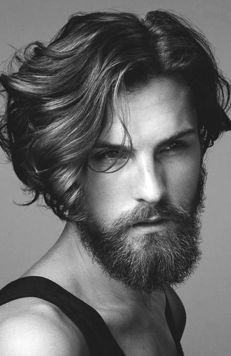 Top 70 besten langen Frisuren für Männer - Princely Long 'Dos