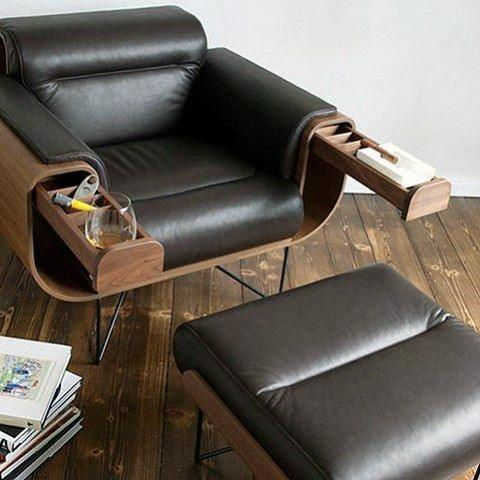 60 Bachelor Pad Möbel Design-Ideen für Männer - Masculine Interiors