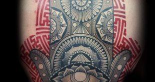 80 Hamsa Tattoo Designs für Männer - Evil Eye Ink Ideen