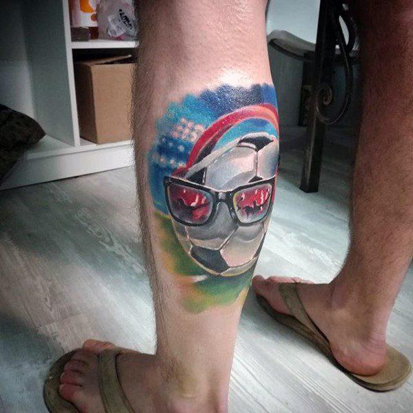 60 Sport Tattoos für Männer - Sportliche Design-Ideen