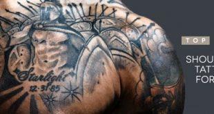 Top 50 der besten Schulter Tattoos für Männer