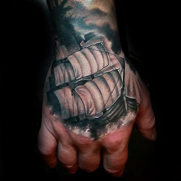 50 3d Hand Tattoo Designs Fur Manner Masculine Ink Ideen Mann