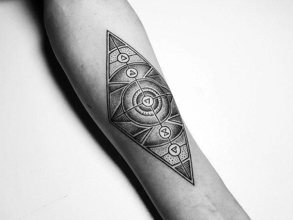 60 Witcher Tattoo Designs für Männer - Videospiel-Tinten-Ideen