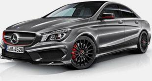 Racing-abgeleitete 2014 Mercedes-Benz CLA 45 AMG