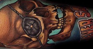 60 Goonies Tattoo-Designs für Männer - Sag niemals sterben Tinte Ideen
