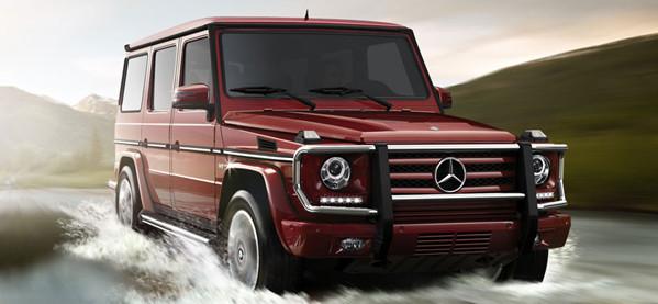Der neue 2013 Mercedes-Benz G63 AMG SUV