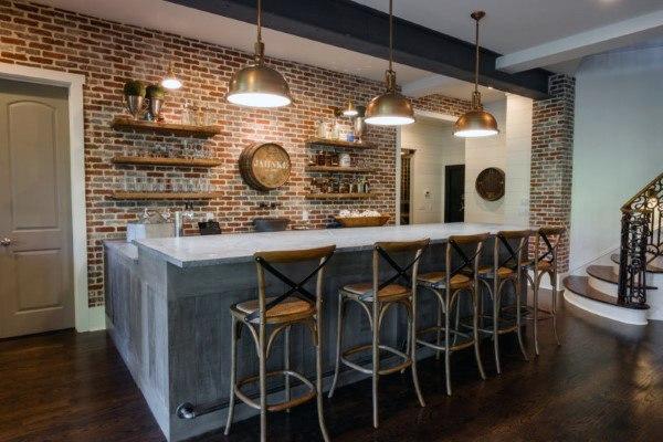 Top 70 besten rustikalen Bar Ideen - Vintage Home Interior Designs