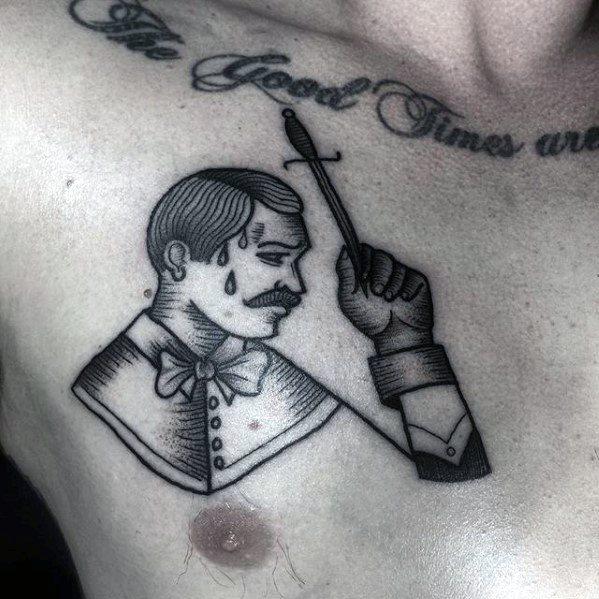 60 Zirkus Tattoos für Männer - unterhaltsame Design-Ideen