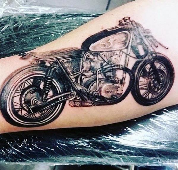 Motorrad Tattoo
