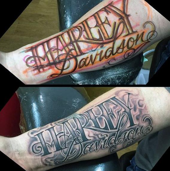 90 Harley Davidson Tattoos Für Männer