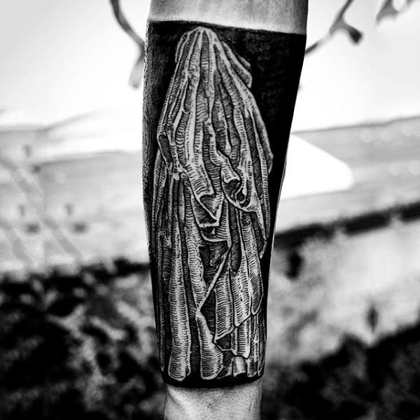 75 Blackwork Tattoo Designs für Männer - Bold Maskuline Tinte