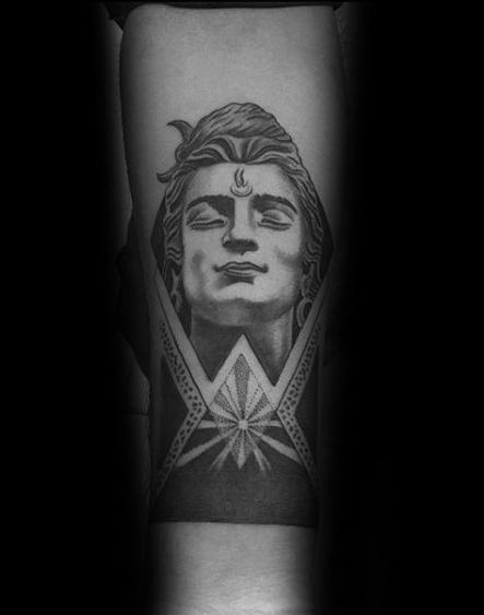60 Shiva Tattoo-Designs für Männer - Hinduismus-Tinte Ideen