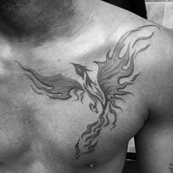 40 Tribal Phoenix Tattoo-Designs für Männer - Mythologie Tinte Ideen