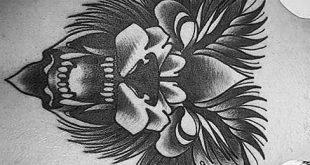 70 traditionelle Wolf Tattoo Designs für Männer - Manly Ink Ideen