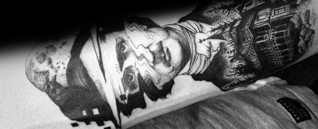 60 Edgar Allan Poe Tattoo Designs Für Männer Literatur Tinte Ideen