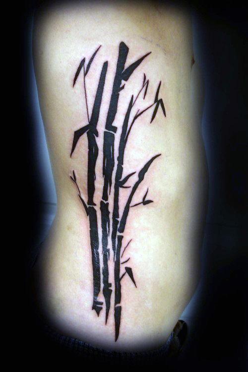 50 Bambus Tattoo Designs Fur Manner Lush Greenery Ink Ideen Mann