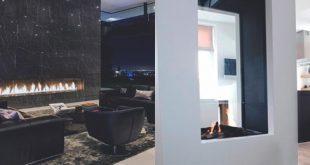 Top 70 besten modernen Kamin Design-Ideen - Luxus-Interieur