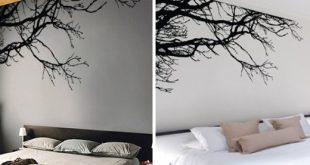 Wandtattoo Baum Zweige