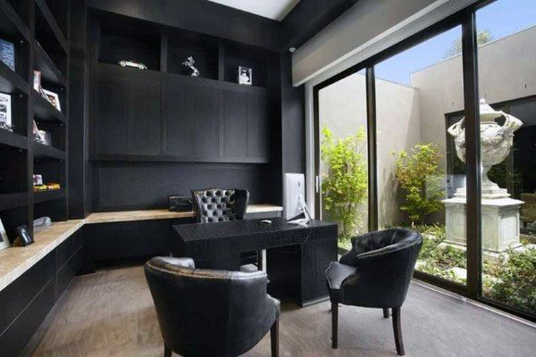 Top 70 Besten Modernen Home Office Design Ideen Zeitgenössische