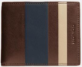 Herren Coach Bleeker Brieftasche aus Leder