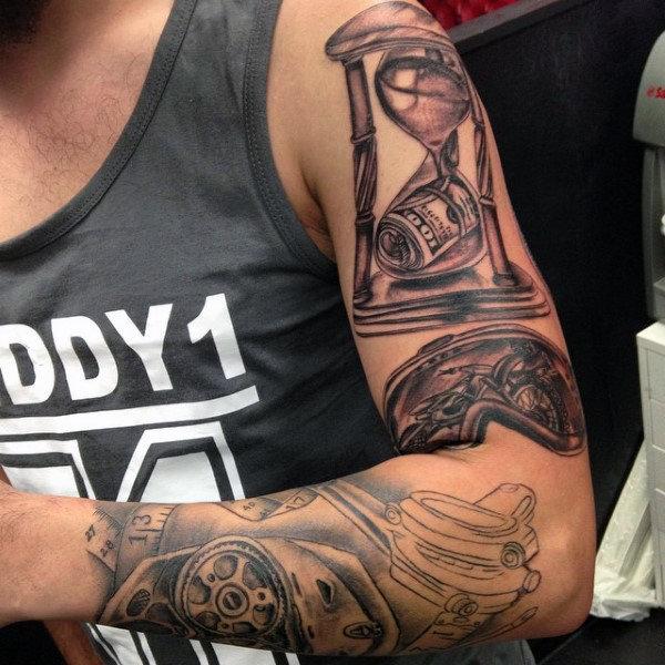 70 Motocross Tattoos für Männer - Dirt Bike Design-Ideen