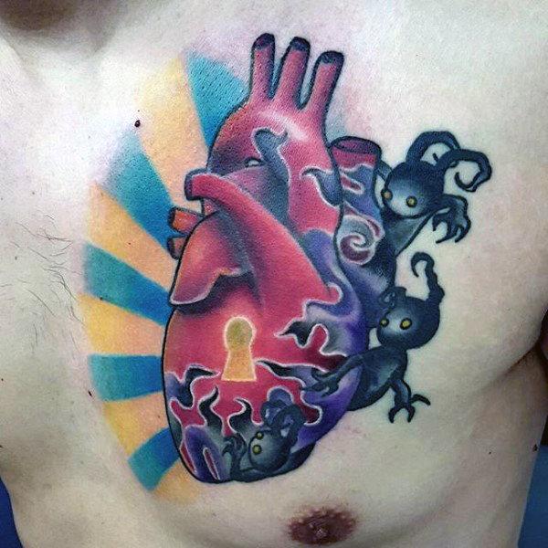 50 Schlüsselloch Tattoo-Designs für Männer - Manly Ink Ideen
