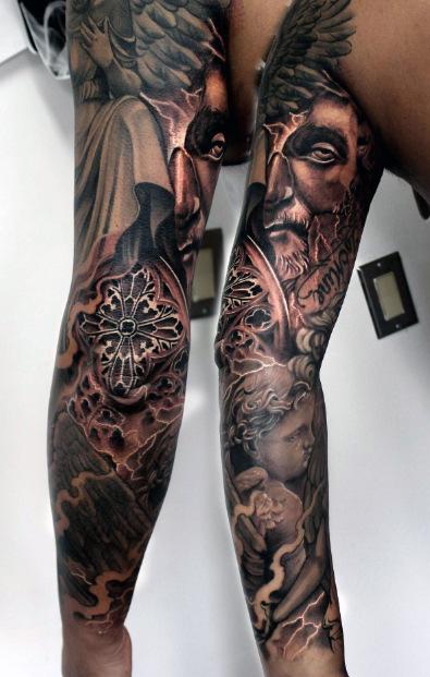 Top 100 besten Sleeve Tattoos für Männer - Themen, Talent und Zeit