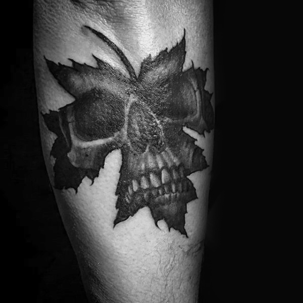 80 Maple Leaf Tattoo-Designs für Männer - kanadische und japanische Tinte