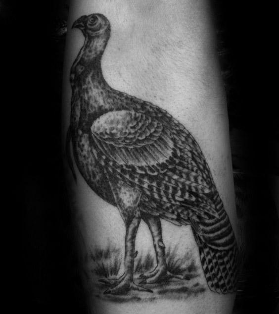 Top 40 besten Türkei Tattoos für Männer - Spiel Vogel Design-Ideen