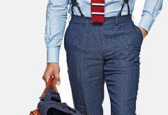 Wie trägt man Herren Hosenträger und Hosenträger