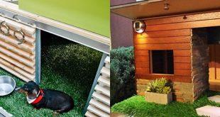 Top 50 Best Cool Dog Houses - Pads für den besten Freund des Mannes