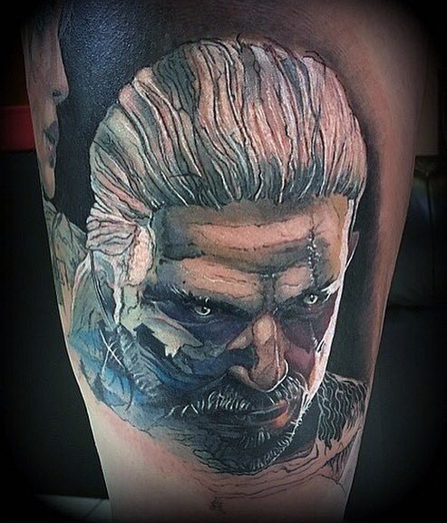 30 Geralt Tattoo Designs Fur Manner Witcher Ink Ideen Mann Stil