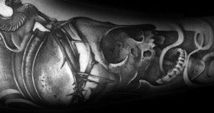 50 Thorn Tattoos für Männer - scharfe Design-Ideen