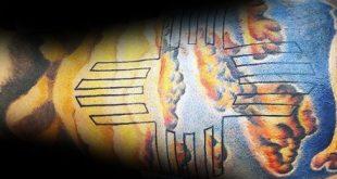 50 Zia Tattoo Designs für Männer - New Mexico Tinte Ideen