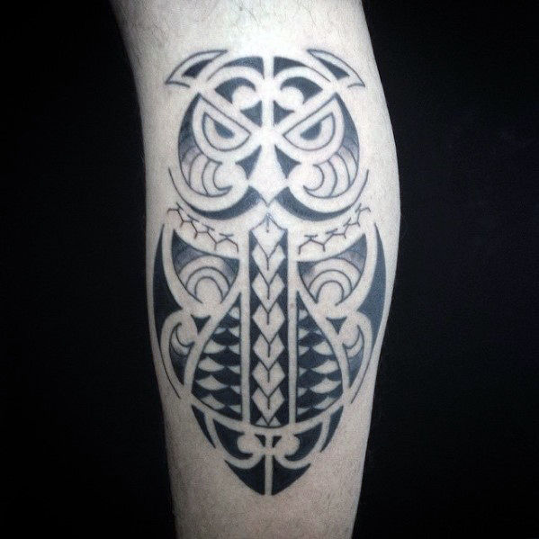 50 Tribal Owl Tattoo-Designs für Männer - Maskulin Ink Ideen