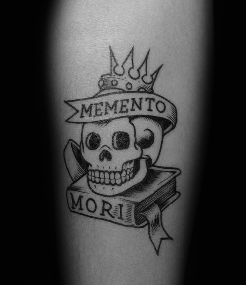 60 Memento Mori Tattoo Designs für Männer - Manly Ink Ideen