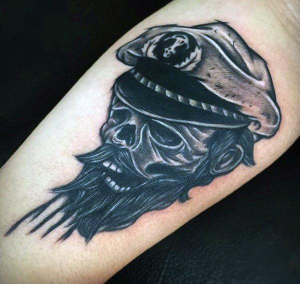 50 Skeleton Tattoos für Männer - Spine-Tingling After Life Designs