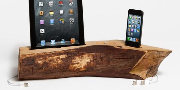 Handwerker iPhone iPad Cedar Docking Station