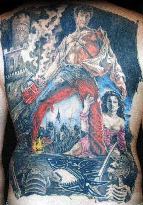 70 böse tote Tattoo-Designs für Männer - Buch der toten Tinte Ideen