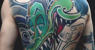 80 Graffiti-Tattoos für Männer - Inked Street Art Designs