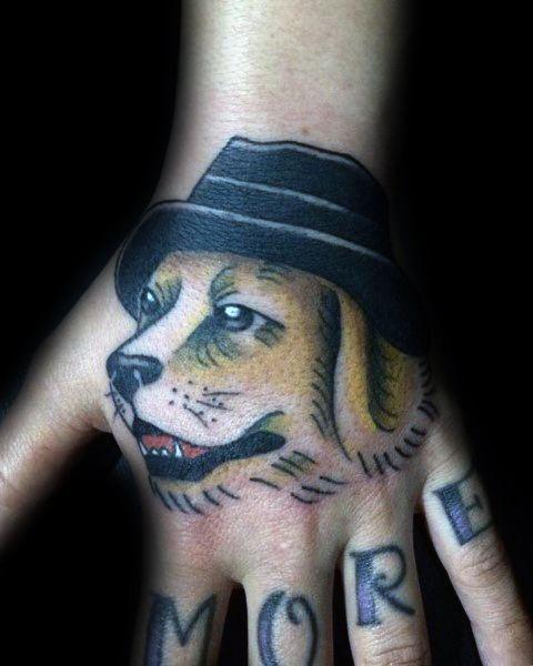 40 Golden Retriever Tattoo-Designs für Männer - Hund Tinte Ideen
