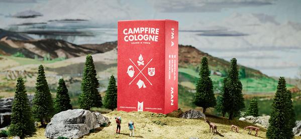 Campfire Cologne Holzstäbchen geben Ihnen den männlichen freien Duft