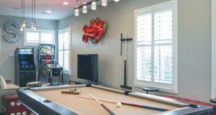 60 Spielzimmer Ideen für Männer - Cool Home Entertainment Designs