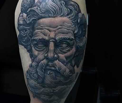 80 Zeus Tattoo Designs für Männer - Ein Thunderbolt der Ideen